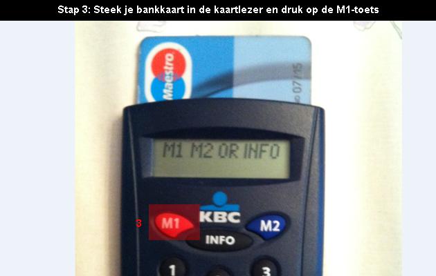 hoe online bankieren bij KBC 3