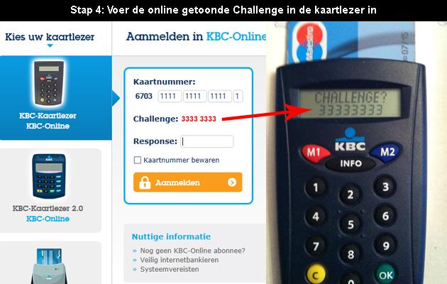 hoe online bankieren bij KBC 4
