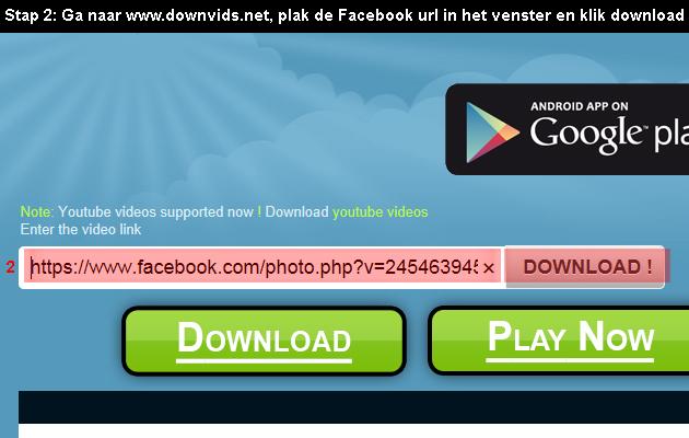 facebook video downloaden 2
