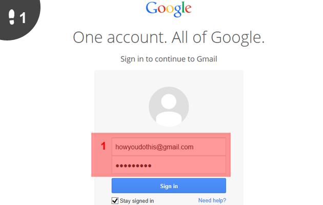 Gmail mail sturen 1