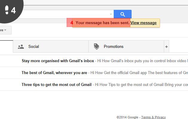 Gmail mail sturen 4
