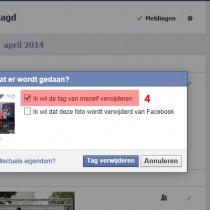 facebook tag verwijderen 4