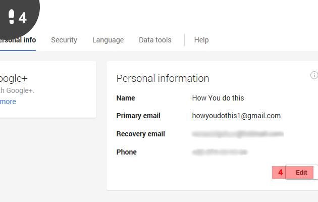 gmail naam veranderen 4
