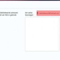 yahoo email blokkeren 3