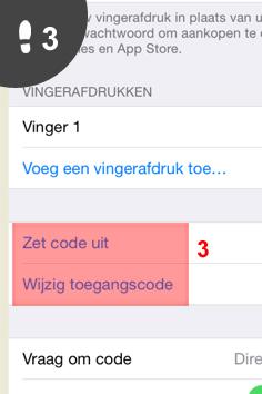 iphone toegangscode wijzigen 3