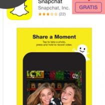 snapchat installeren 1