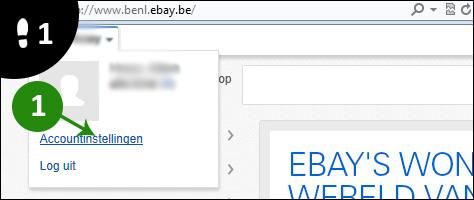 ebay wachtwoord veranderen 1