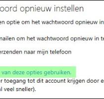 hotmail geblokkeerd of gehackt 2
