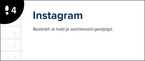 instagram wachtwoord wijzigen 4