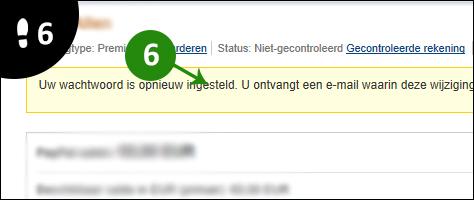 paypal wachtwoord vergeten 6