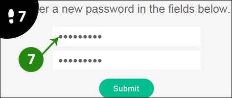 vine wachtwoord vergeten 7