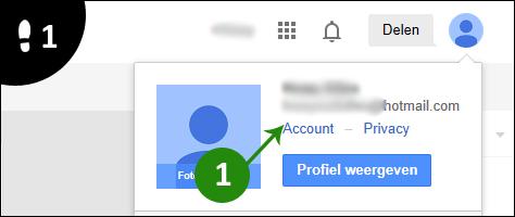 google wachtwoord veranderen 1