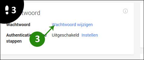 google wachtwoord veranderen 3
