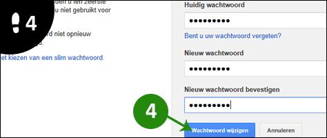 google wachtwoord veranderen 4