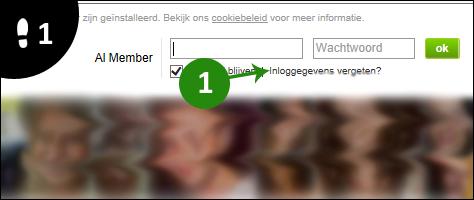 lexa wachtwoord vergeten 1