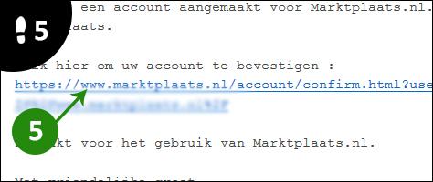 marktplaats account aanmaken 5
