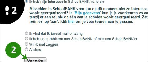 schoolbank account verwijderen 2