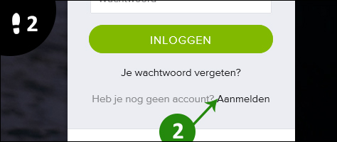 spotify account aanmaken 2