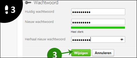 twoo wachtwoord wijzigen 3