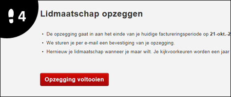 netflix account opzeggen 4