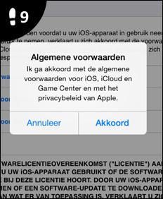 apple id account aanmaken 9