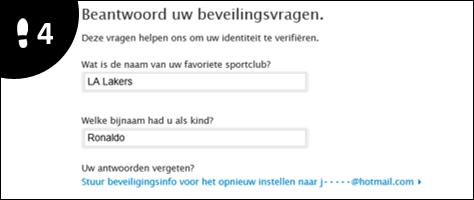 apple id wachtwoord veranderen 4