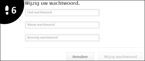 apple id wachtwoord veranderen 6