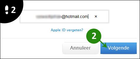 hotmail password vergeten