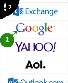 iphone gmail instellen 2