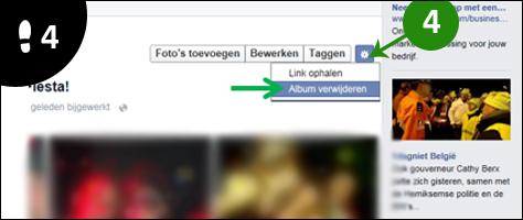 facebook album verwijderen 4