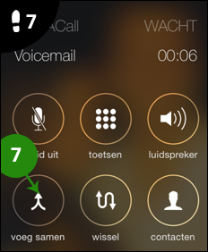 iphone gesprek opnemen 7