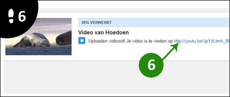 video op youtube zetten 6