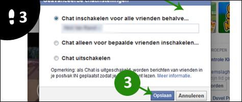 facebook chat iemand blokkeren 2