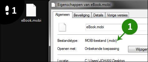 mobi bestand openen 1