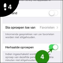 iphone niet storen 4