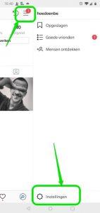 Instagram koppelen aan Twitter - Android 2